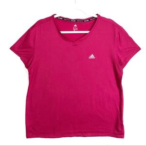 Adidas Climate Pink Tee